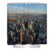 New York, New York 27 Shower Curtain