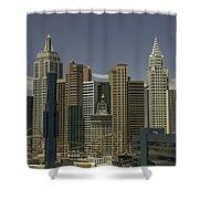 New York New York View 1 Shower Curtain