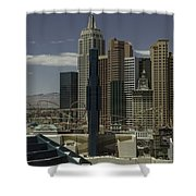 New York New York View 2 Shower Curtain
