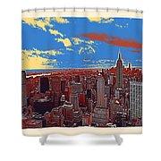 New York Ny Shower Curtain