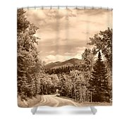 New York Roadway Shower Curtain