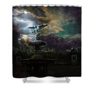 New York Series Number 3 Shower Curtain