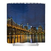 New York Skyline - Queensboro Bridge - 2 Shower Curtain