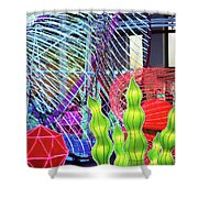 New York State Chinese Lantern Festival 4 Shower Curtain