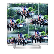 New York State Police Color Guard  1 Shower Curtain