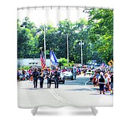 New York State Police Color Guard  2 Shower Curtain