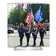 New York State Police Color Guard  5 Shower Curtain