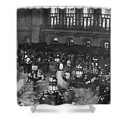 New York Stock Exchange Shower Curtain by Granger