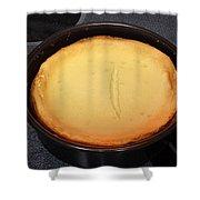 New York Style Cheesecake Shower Curtain