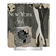 New York Style I Shower Curtain