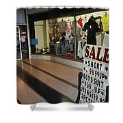New York Style In Color Shower Curtain