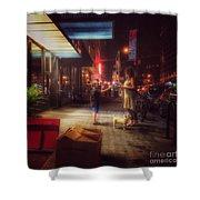 New York Summer Nights Shower Curtain