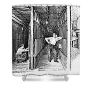 New York: Telephone, 1891 Shower Curtain