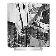 New York: Tenement, 1936 Shower Curtain