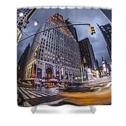 New York Time Square  Shower Curtain