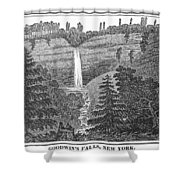 New York: Waterfall Shower Curtain