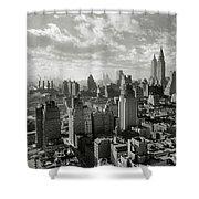 New Your City Skyline Shower Curtain
