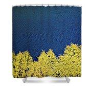 New Zealand Autumn Shower Curtain