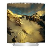 New Zealand, South Island Shower Curtain