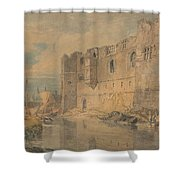 Newark - Upon - Trent Shower Curtain