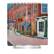 Newburyport  Ma Shower Curtain