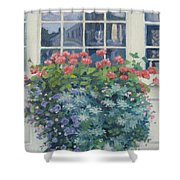 Newburyport Window Shower Curtain