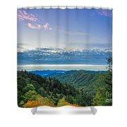 Newfound Gap. Shower Curtain