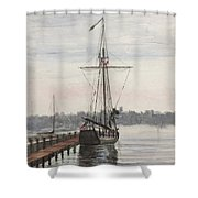 Newport, Rhode Island Shower Curtain