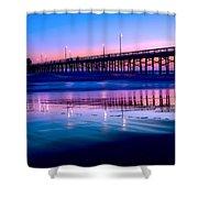 Newport Sunset Shower Curtain