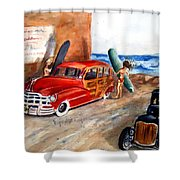 Newport Woody Shower Curtain