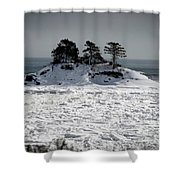 Newport1 Shower Curtain