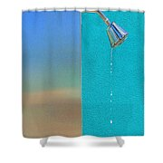Newtons Law Shower Curtain