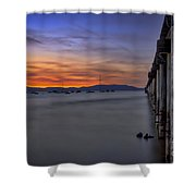 Next To Nothing Shower Curtain