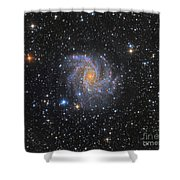 Ngc 6946, The Fireworks Galaxy Shower Curtain