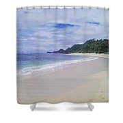 Ngliyep Beach Shower Curtain