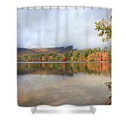 Color On The Lake  Shower Curtain