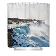 Niagara Falls 4589 Shower Curtain