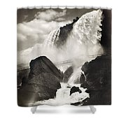 Niagara Falls, C1888 Shower Curtain