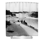 Niagara Falls, C1905 Shower Curtain