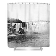 Niagara Falls, C1909 Shower Curtain
