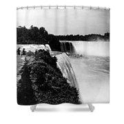 Niagara Falls, C1910 Shower Curtain