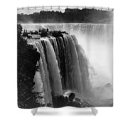 Niagara Falls, C1911 Shower Curtain