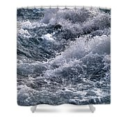 Niagara Falls Rapids Shower Curtain