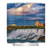 Niagara Falls - The American Side 3 Shower Curtain