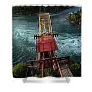 Niagara Falls The Whirlpool Shower Curtain