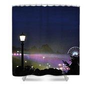 Niagara Glimmers Shower Curtain