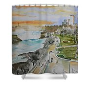 Niagara In Spring Shower Curtain