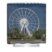 Niagara Skywheel Shower Curtain