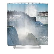 Niagara Up Close Shower Curtain