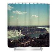 Niagra Falls Shower Curtain